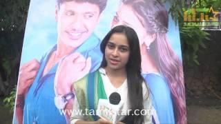 Sri Divya at Vellaikaara Durai Movie Team Interview