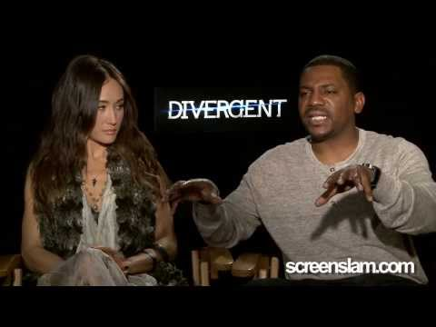 Divergent: Exclusive Interview with Maggie Q & Mehkhi Phifer