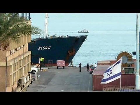 Le navire rempli d'armes iraniennes est arrivé en Israël