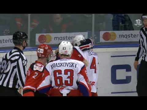 Бой КХЛ: Мишарин VS Елесин (видео)