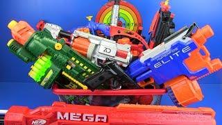 Video Nerf Box of Toys !! NERF Guns Toys for Kids & bow and arrow MP3, 3GP, MP4, WEBM, AVI, FLV Desember 2018