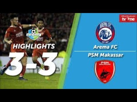 Arema FC vs PSM Makassar 3-3 All Goals & Highlights