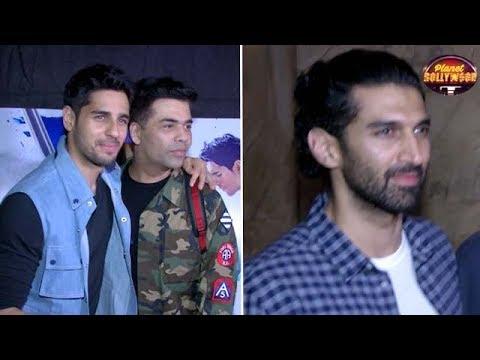 Sonakshi, Karan, Aditya Attend 'A Gentleman's
