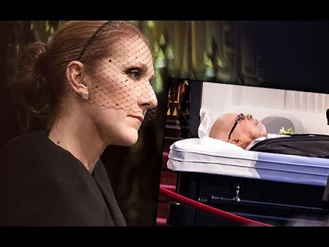 CELINE DION MOURNS THE LOSS OF HER HUSBAND RENE (видео)