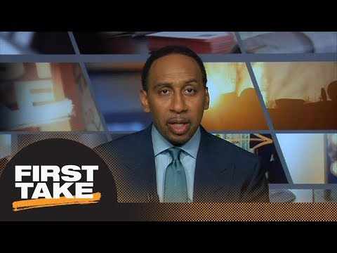 Stephen A.: People should care about Myles Garrett calling out Kevin Durant | First Take | ESPN