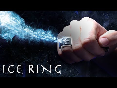 How To Make $5 ICE RING! - Shoot Ice From Your Fist!!! (❄️Cool Mr. Freeze Gadget❄️)