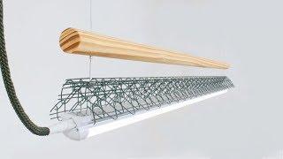 Customized Amazon LED Light Fixture // DIY