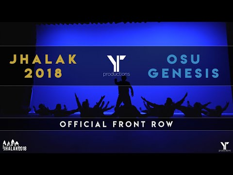 [3rd PLACE] OSU Genesis | Jhalak Dance Competition 2018 | [@YTPRODUCTIONS Front Row]