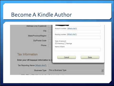 Become A Kindle Author Fast