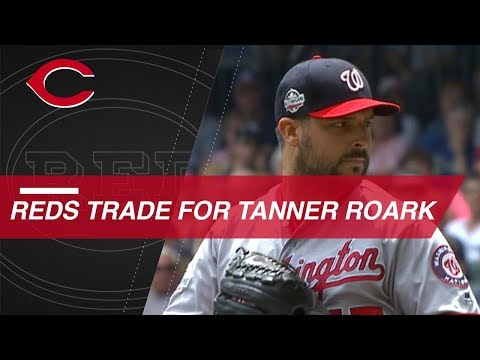Video: Tanner Roark traded to Reds from Nationals
