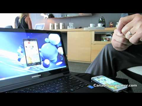 Samsung ATIV Book 9 Plus and Side Sync demo Canada