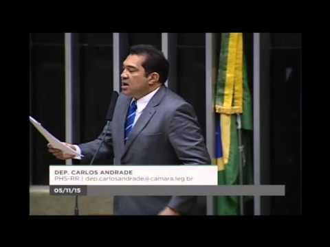 Carlos Andrade critica demora do governo para resolver questão energética