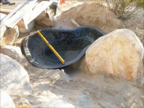 Montaje de un peque o estanque paso a paso bricolaje for Estanque de cemento paso a paso