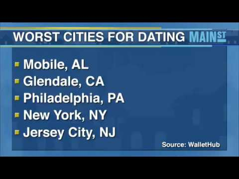 The best and worst cities for dating