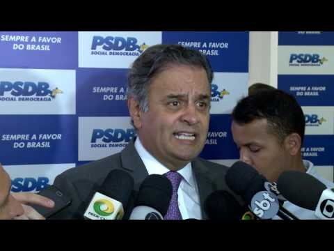 Aécio Neves:  Compromisso do PSDB é com o país