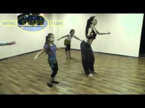Восточные танцы Кривой Рог, студия ШЕЙП (видео)