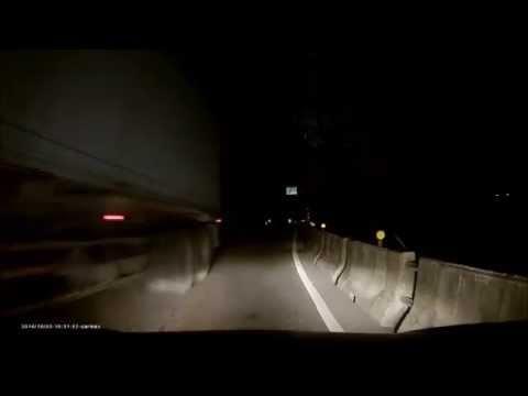 危險蘇花!暗夜開車遇到逆向,巧遇彎道車神2次!