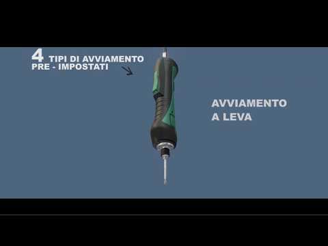 AVVITATORE ELETTRICO BRUSHLESS CON FRIZIONE MECCANICA ED ARRESTO AUTOMATICO