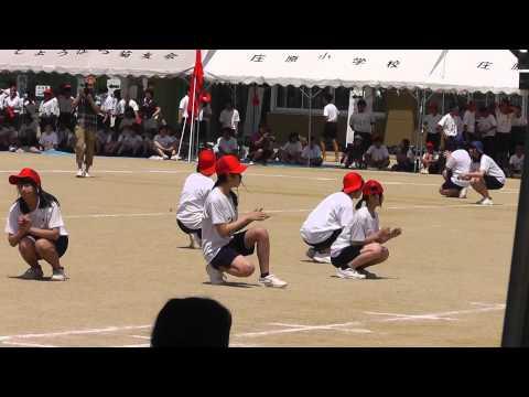 庄原中学校 体育祭 ダンス