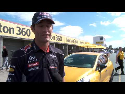 Mark Webber Discusses His Relationship With Renault And The New Clio RS 200