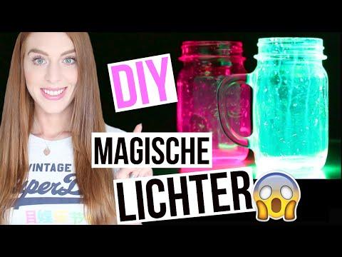 DIY MAGISCHE LICHTER: Schnell & einfach zum Selbermachen! | LaurenCocoXO