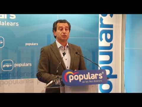 """Company: """"En Balears el problema no es de oposición; el problema es un Govern superado por la situación"""""""