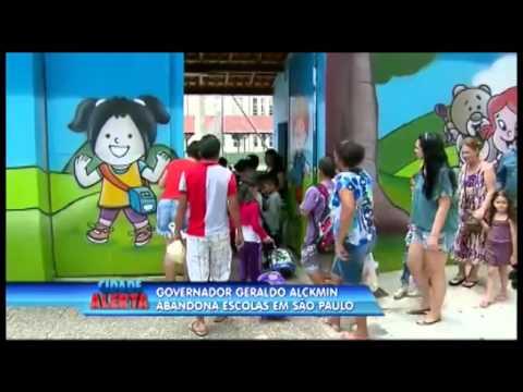 Governador Geraldo Alckmin abandona Escolas em São Paulo
