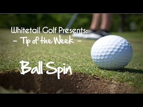 Tip of the Week - Ball Spin