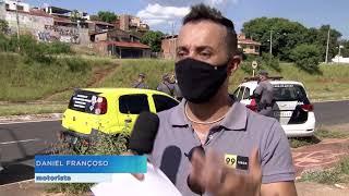 Bauru: Motoristas de aplicativos fizeram um protesto hoje em Bauru