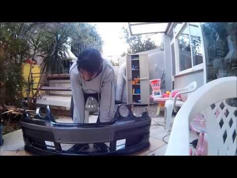 DIY - E46 316Ti Compact front bumper splitter