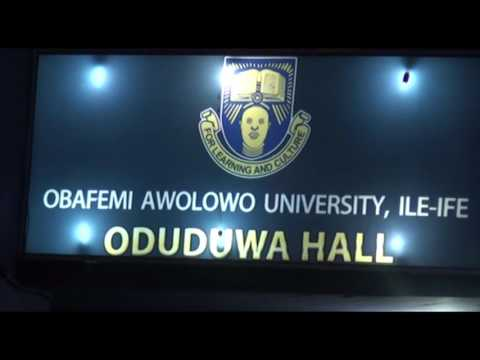 LAI MOHAMED VISITS TO OBAFEMI AWOLOWO UNIVERSITY, ILE-IFE