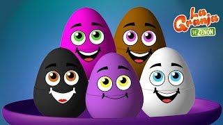 Video 10 Huevos Sorpresa de Pollitos Pío de Colores en La Granja de Zenón | La Granja de Zenón MP3, 3GP, MP4, WEBM, AVI, FLV Oktober 2018