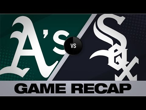 Video: Fiers, Chapman lead Athletics to a 7-0 win | Athletics-White Sox Game Highlights 8/9/19