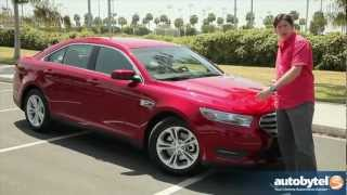 2013 Ford Taurus Test Drive&Car Video Review