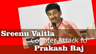 Video Sreenu Vaitla Counter Attack to Prakash Raj MP3, 3GP, MP4, WEBM, AVI, FLV November 2018