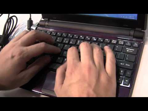 MSI U180 Cedar Trail Netbook Hands On