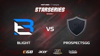 Prospects vs Blight, game 1