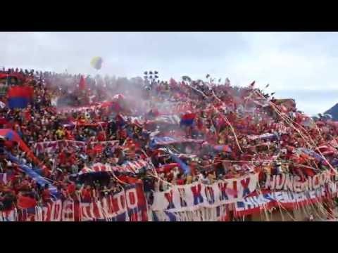 Env 0 DIM 1 / Recibimiento / De pequeño yo soy hincha del medallo - Rexixtenxia Norte - Independiente Medellín