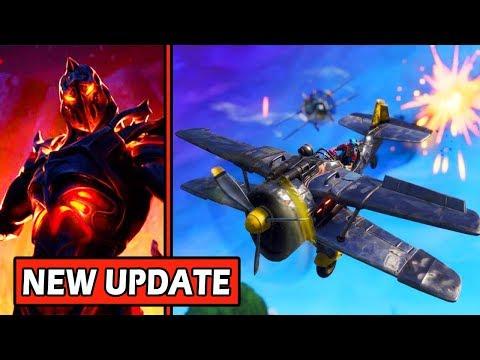 Fortnite: Planes Returning & New Update Tomorrow (LOOT LAKE EVENT LEAKS)