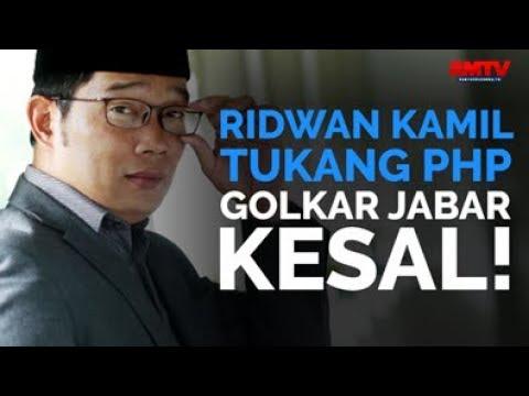 Ridwan Kamil Tukang PHP, Golkar Jabar Kesal