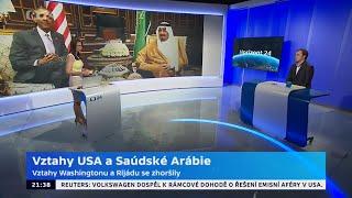 Vztahy USA a Saúdské Arábie