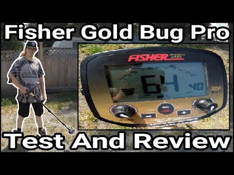 Metal Detecting: Fisher Gold Bug Pro - Test And Review!