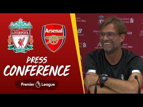 Video: Jürgen Klopp's pre-match press conference | Arsenal