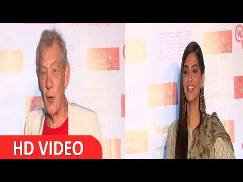 Sir Ian Mckellen & Sonam Kapoor At Inauguration Of 7th KASHISH Film Festival