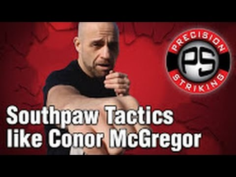 Conor - In this video I break down some southpaw striking tactics commonly used by Conor McGregor. New Padwork Video Available Here - http://www.precisionstriking.ca/product/padwork-and-combinations/...