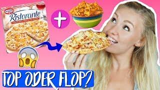ICH TESTE DIE CHIPS PIZZA VON RISTORANTE! TOP ODER FLOP?