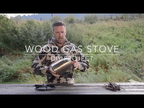 Wood Gas Stove from Coffee Carafe
