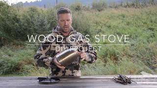 https://www.prolitegear.com In this video I take a recycled Coffee Carafe and make a Wood Gas Stove for camping.