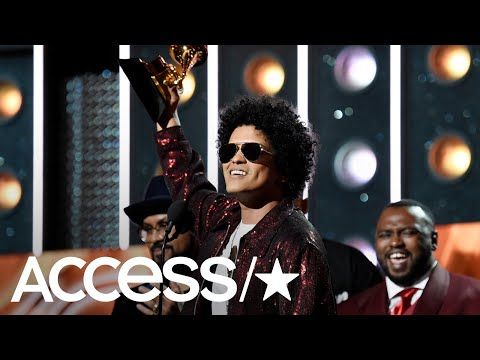 Bruno Mars Sweeps The 2018 Grammy Awards With 7 Wins | Access