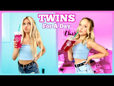 Twins For A Day | Coco Quinn ft. Lilly K